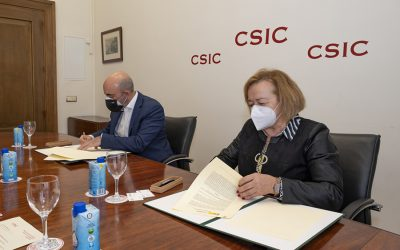 El CSIC recibe 15.000 euros de Fundación Multiópticas para apoyar el trabajo de la vacuna contra la covid-19